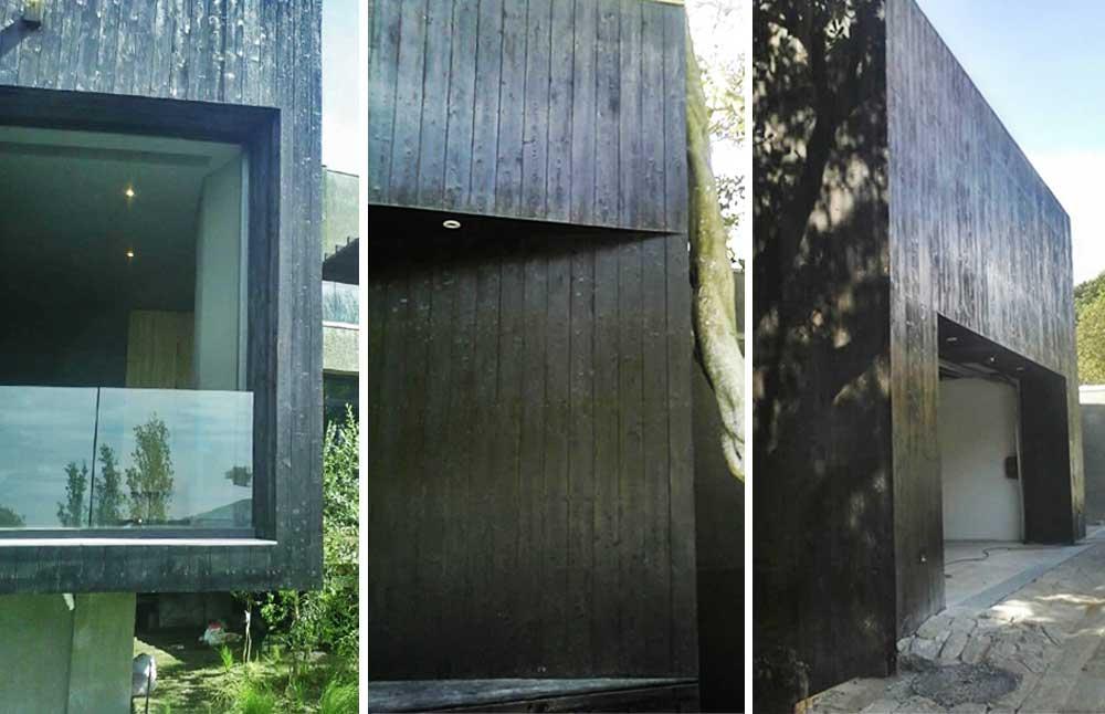Timberliving - Shou-Sugi-Ban Japanese burnt style